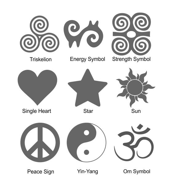 Reflective symbols