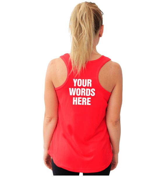 Running t-shirts custom
