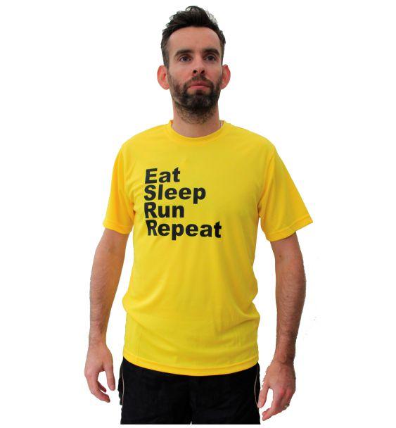 Running t-shirts eat sleep run repeat