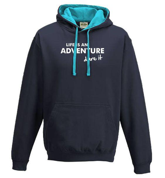 running hoodies life is