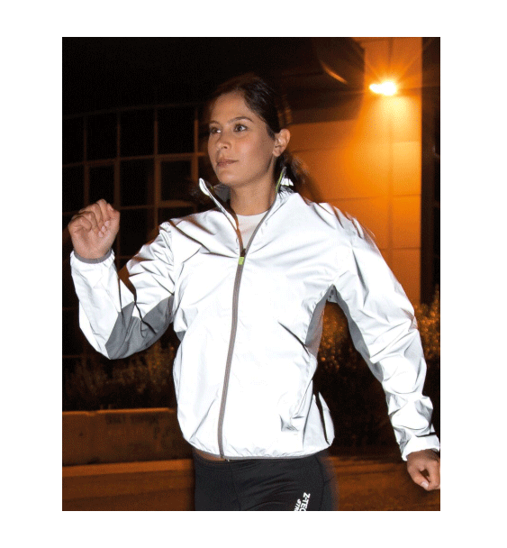 reflective running jacket
