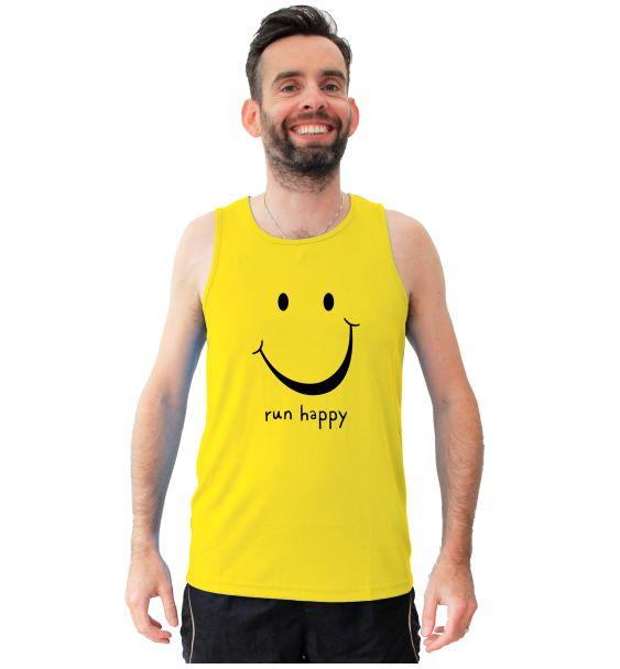 Running t-shirts run happy