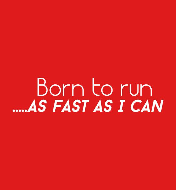 Running t-shirts born to run