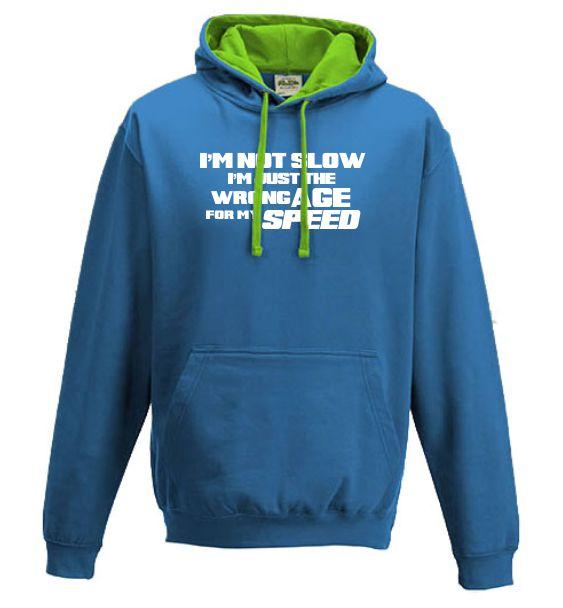 running hoodies not slow