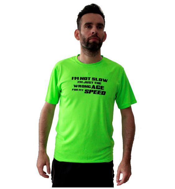 Running t-shirts not slow
