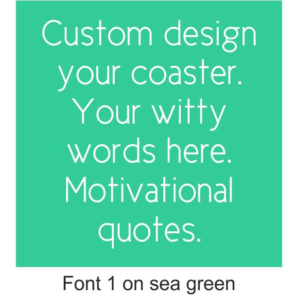 Coasters custom