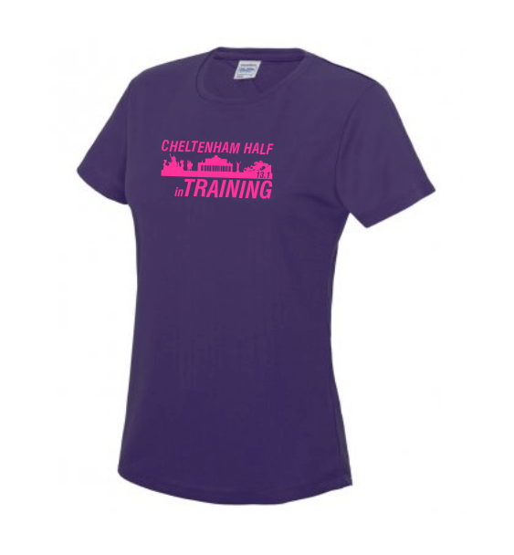 Cheltenham Half Training T-shirt