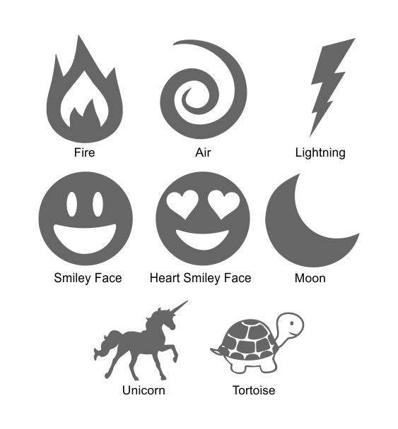 reflective symbols 3