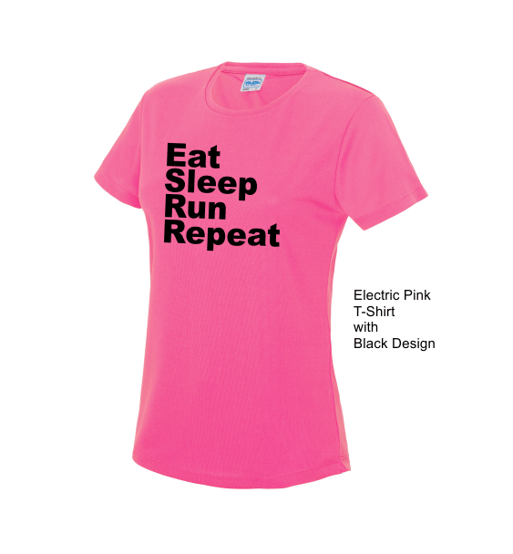 Eat Sleep Run Repeat Ladies
