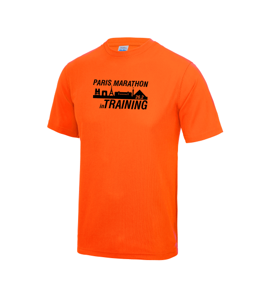 Paris Marathon Training Men's T-shirts