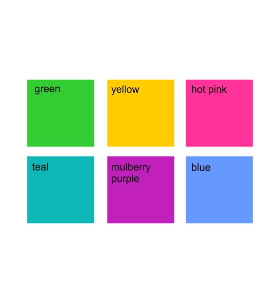 mug colours