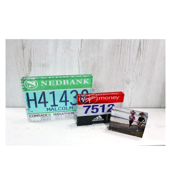 Race bib blocks