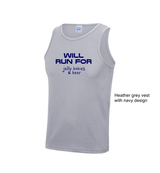 custom running vest