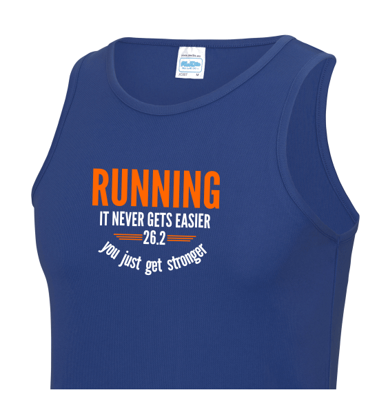 Running Never Gets Easier